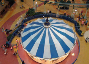 Nickelodeon Carousel from Above